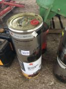 Quantity 10W40 engine oil