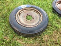 Single 5.00-16 tyre