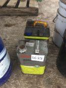 Quantity axle oil