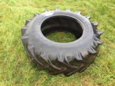 Single 15.5/80/24 tyre