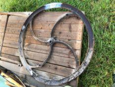 Vintage fly wheel