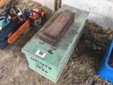 Box assorted equipment. NO VAT