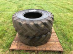 2No. 425/75R20 tyres
