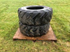 4No. 445/70R24 tyres