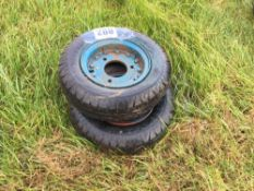 2No. 16x4 sack barrow wheels