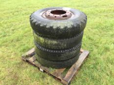Quantity miscellaneous wheels and tyres