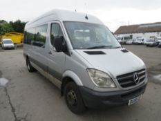 08 reg MERCEDES SPRINTER MINIBUS, 1ST REG 08/08, TEST 09/20, 566772KM, V5 HERE, 1 OWNER FROM