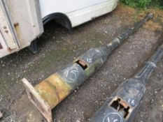1 X ORIGINAL CAST IRON LAMP POST WITH DOOR (15) (DIRECT COUNCIL) [+ VAT]
