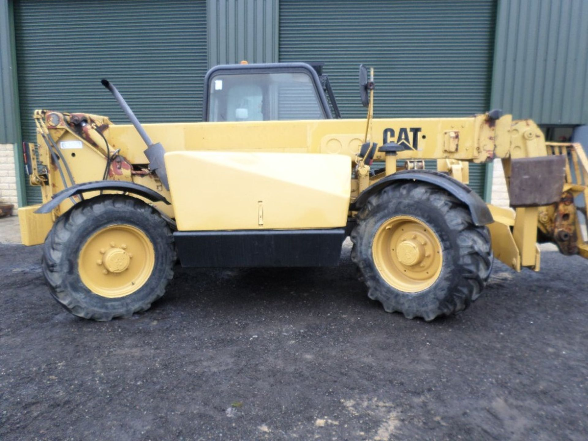 1999 CAT TH63 TELEPORTER (LOCATON SHEFFIELD) 5612 HOURS (RING FOR COLLECTION DETAILS) [+ VAT] - Image 10 of 13