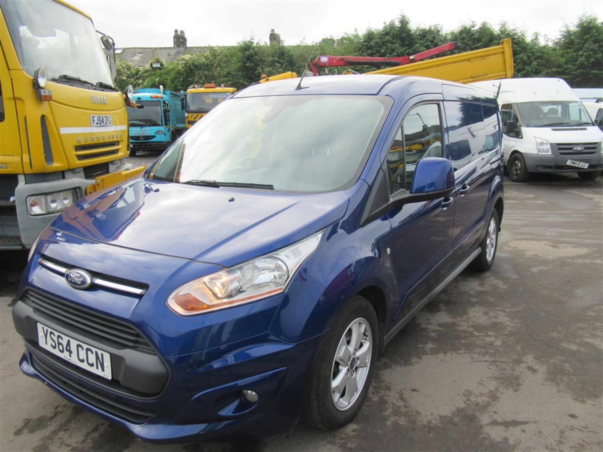 64 reg FORD TRANSIT CONNECT 240 LIMITED, 1ST REG 12/14, 128144M WARRANTED, V5 HERE, 1 OWNER FROM NEW - Image 2 of 7