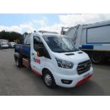 18 reg FORD TRANSIT MULTI LIFT SKIP TRUCK, FULLY LOADED, 1ST REG 03/18, 7470M, V5 HERE, 1 OWNER FROM