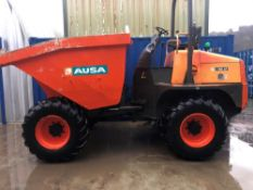 2014 MODEL AUSA 10 TON DUMPER (LOCATION TODMORDEN) 1752 HOURS (RING FOR COLLECTION DETAILS) [+ VAT]
