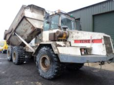 2001 TEREX TA27 6WD DUMPER (LOCATION SHEFFIELD) 2337 HOURS (RING FOR COLLECTION DETAILS) [+ VAT]