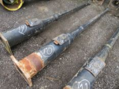 1 X ORIGINAL CAST IRON LAMP POST WITH DOOR (10) (DIRECT COUNCIL) [+ VAT]