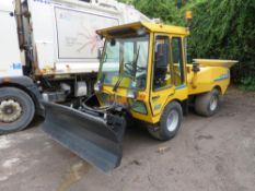 1996 WULFF 800 ATV 4WD MULTI TOOL C/W SNOW PLOUGH & SALT SPREADER, 6764 HOURS NOT WARRANTED [+ VAT]