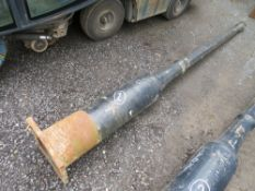 1 X ORIGINAL CAST IRON LAMP POST (1) (DIRECT COUNCIL) [+ VAT]