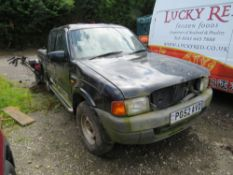 52 reg FORD RANGER XLT 4x4 TD, 1ST REG 11/02, 150465M NOT WARRANTED, V5 HERE, 3 FORMER KEEPERS (