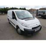 60 reg CITROEN DISPATCH 1200 HDI 90 LWB, 1ST REG 06/02, TEST 09/20, 120161M NOT WARRANTED, V5