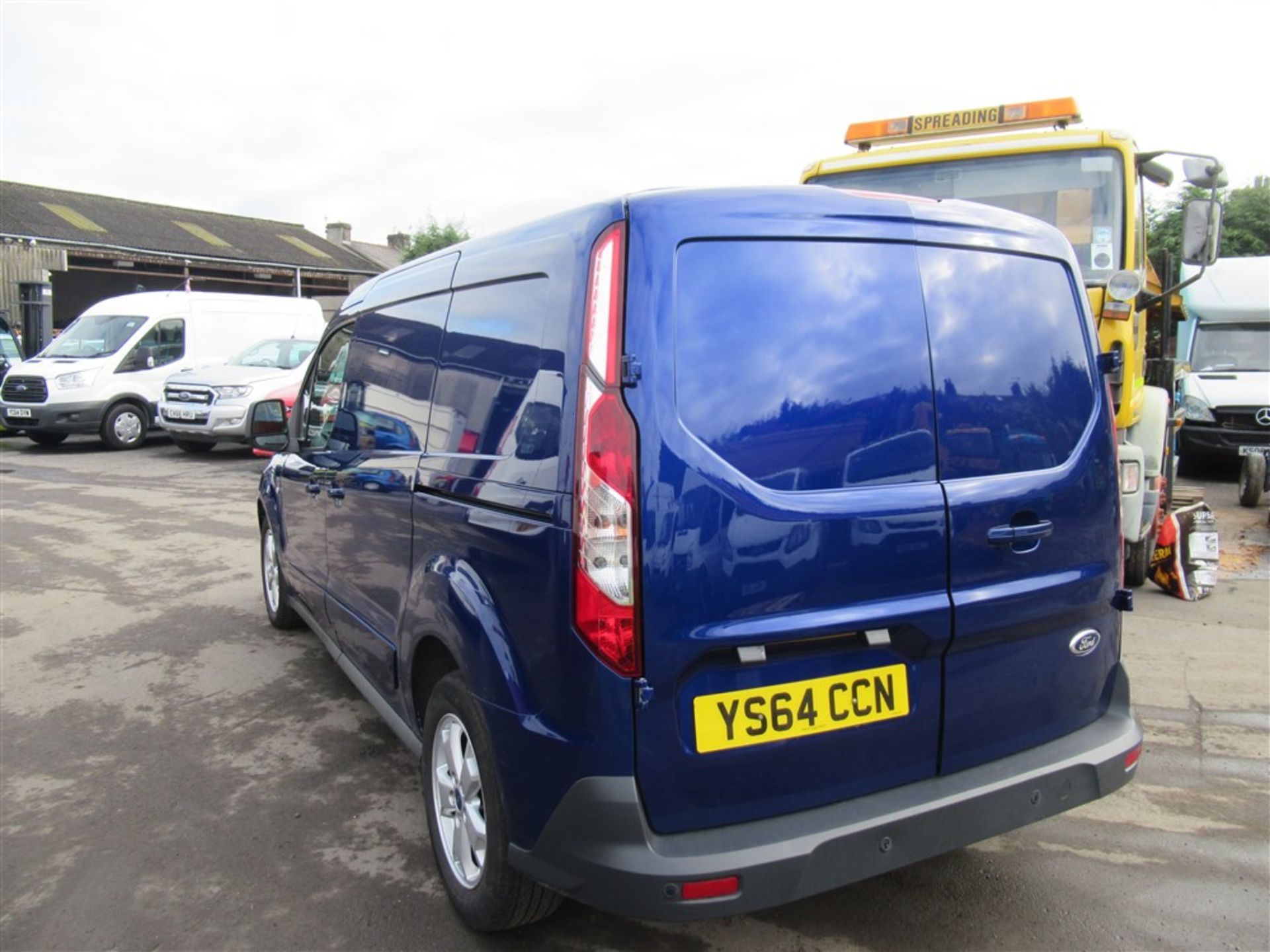 64 reg FORD TRANSIT CONNECT 240 LIMITED, 1ST REG 12/14, 128144M WARRANTED, V5 HERE, 1 OWNER FROM NEW - Image 3 of 7