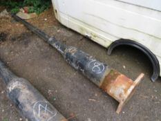 1 X ORIGINAL CAST IRON LAMP POST (8) (DIRECT COUNCIL) [+ VAT]