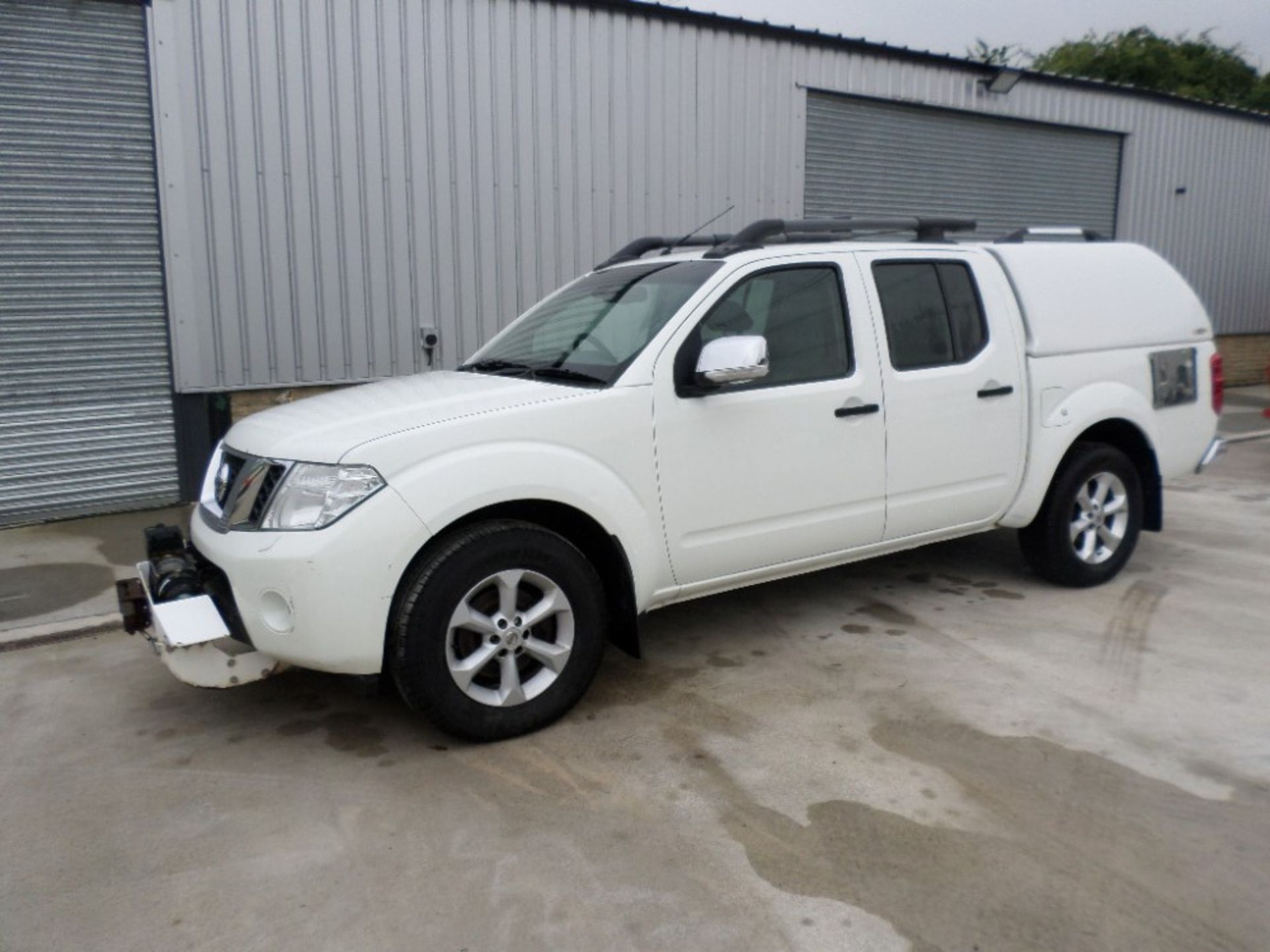 2011 NISSAN NAVARA DCI 188 TEKNA D/CAB PICKUP (LOCATION SHEFFIELD) UNREGISTERED EX MOD, 115121M (