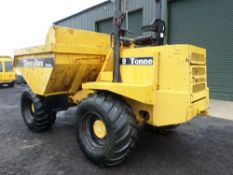 2001 THWAITES 9 TON DUMPER (LOCATION SHEFFIELD) (RING FOR COLLECTION DETAILS) [+ VAT]