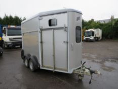 IFOR WILLIAMS HB511 HORSE TRAILER [NO VAT]