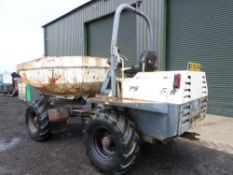 2006 56 reg TEREX PS6000 SWIVEL DUMPER (LOCATION SHEFFIELD) NO V5 (RING [+ VAT]