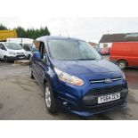 64 reg FORD TRANSIT CONNECT 240 LIMITED, 1ST REG 12/14, 128144M WARRANTED, V5 HERE, 1 OWNER FROM NEW