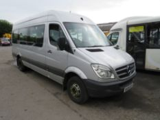 08 reg MERCEDES SPRINTER MINIBUS, 1ST REG 08/08, TEST 09/20, 537436KM, V5 HERE, 1 OWNER FROM