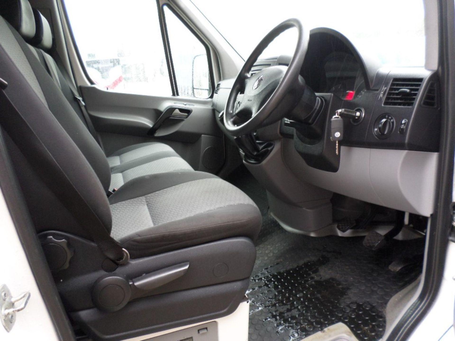 13 reg VW CRAFTER CR35 TDI 163 XLWB (LOCATION SHEFFIELD) 1ST REG 04/13, TEST 01/21, 97061M [+ VAT] - Image 6 of 6
