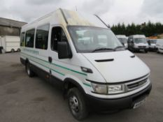 06 reg IVECO DAILY 40C14 BUS, 1ST REG 03/06, 120864KM WARRANTED, V5 HERE, 1 OWNER FROM NEW [+ VAT]