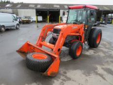 04 reg KUBOTA L5030 TRACTOR (DIRECT COUNCIL) 1ST REG 07/04, 8597 HOURS, V5 HERE, 1 OWNER FROM NEW [+