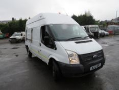 12 reg FORD TRANSIT 125 T350 RWD (DIRECT ELECTRICITY NW) 1ST REG 06/21, TEST 04/21, 75587M, V5 HERE,