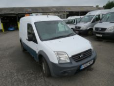 62 reg FORD TRANSIT CONNECT 90 T230 (DIRECT UNITED UTILITIES WATER) 1ST REG 10/12, TEST 09/20,