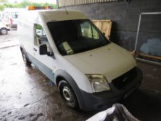 12 reg FORD TRANSIT CONNECT 90 T230 (DIRECT UNITED UTILITIES WATER) 1ST REG 05/12, TEST 02/21,