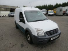 12 reg FORD TRANSIT CONNECT 90 T230 (DIRECT UNITED UTILITIES WATER) 1ST REG 05/12, TEST 12/20,