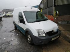 12 reg FORD TRANSIT CONNECT 90 T230 (DIRECT UNITED UTILITIES WATER) 1ST REG 05/12, TEST 01/21, V5