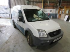 12 reg FORD TRANSIT CONNECT 90 T230 (DIRECT UNITED UTILITIES WATER) 1ST REG 06/12, TEST 02/21, V5