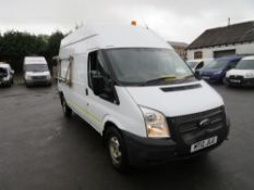 12 reg FORD TRANSIT 125 T350 RWD (DIRECT ELECTRICITY NW) 1ST REG 07/12, TEST 12/20, 80664M, V5 MAY