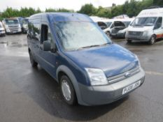 08 reg FORD TOURNEO CONNECT T230 90 (DIRECT COUNCIL) 1ST REG 05/08, TEST 06/21, 114089M, V5 HERE,