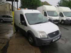 62 reg FORD TRANSIT CONNECT 90 T230 (DIRECT UNITED UTILITIES WATER) 1ST REG 12/12, TEST 06/21,