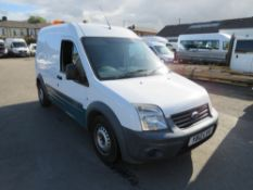 12 reg FORD TRANSIT CONNECT 90 T230 (DIRECT UNITED UTILITIES WATER) 1ST REG 06/12, TEST 04/21, V5
