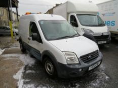 12 reg FORD TRANSIT CONNECT 90 T230 (DIRECT UNITED UTILITIES WATER) 1ST REG 07/12, TEST 04/21, V5