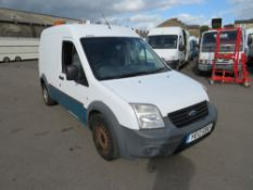 12 reg FORD TRANSIT CONNECT 90 T230 (DIRECT UNITED UTILITIES WATER) 1ST REG 07/12, TEST 11/20, V5