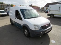 62 reg FORD TRANSIT CONNECT 90 T230 (DIRECT UNITED UTILITIES WATER) 1ST REG 12/12, TEST 10/20, V5