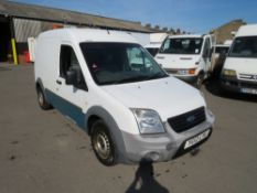 12 reg FORD TRANSIT CONNECT 90 T230 (DIRECT UNITED UTILITIES WATER) 1ST REG 03/12, TEST 12/20, V5