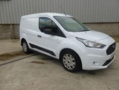 69 reg FORD TRANSIT CONNECT 220 TREND TDCI (LOCATION PADIHAM) 1ST REG 01/20, 207.9 MILES, PLY LINED,