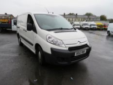 12 reg CITROEN DISPATCH 1000 HDI, 1ST REG 03/12, 125181M, V5 HERE, 2 FORMER KEEPERS [NO VAT]