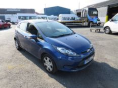10 reg FORD FIESTA EDGE TDCI 68 HATCHBACK (DIRECT COUNCIL) 1ST REG 05/10, TEST 05/21, 122157M, V5